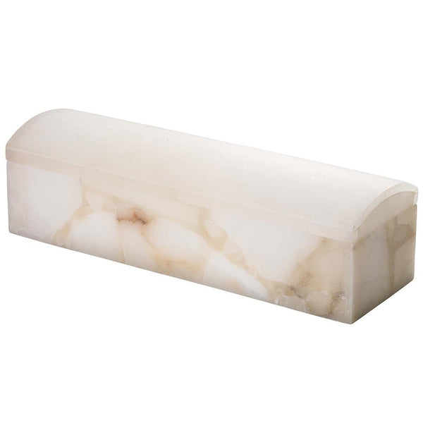 Jamie Young Chester Box in Alabaster