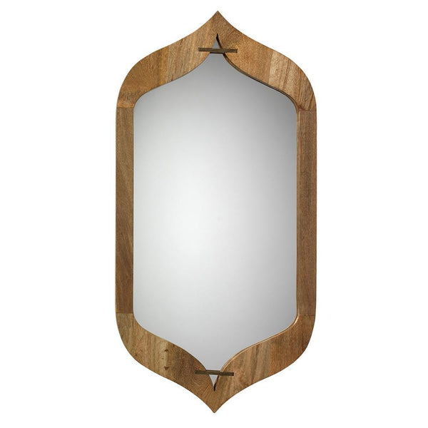 Jamie Young Jasmine Mirror in Natural Wood