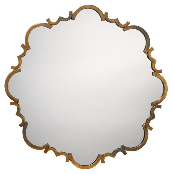 Jamie Young Saint Albans Mirror in Antique Gold