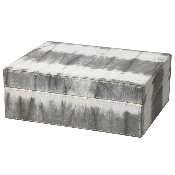 Jamie Young Tie Dye Box in Gray