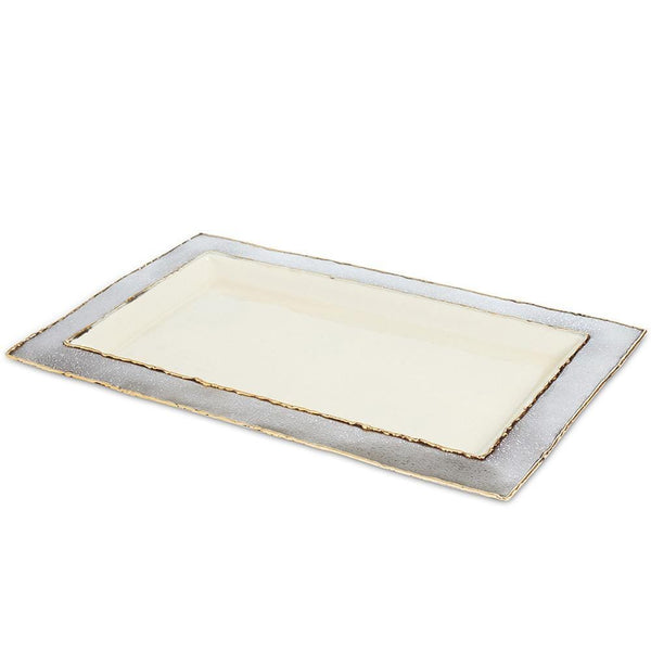 "Cascade 12"" Vanity Tray in Cloud"
