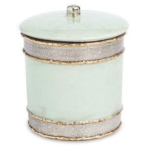 "Julia Knight Julia Knight Cascade 5.5"" Covered Canister - 4 Available Colors Surf 8546527"