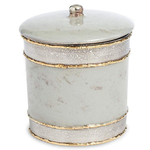 "Julia Knight Julia Knight Cascade 5.5"" Covered Canister - 4 Available Colors Mist 8546537"