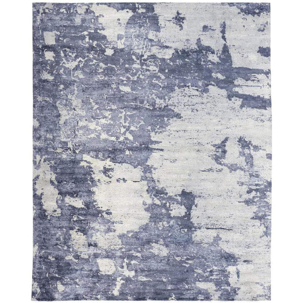 Feizy Home Emory Rug - White,Blue Atl0008661F | Alchemy Fine Home