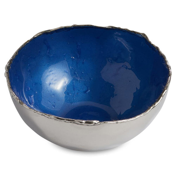 "Cascade 4"" Bowl in Cobalt"