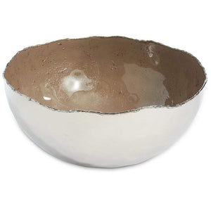 "Julia Knight Julia Knight Cascade 10"" Bowl - 7 Available Colors Mink 8553548"