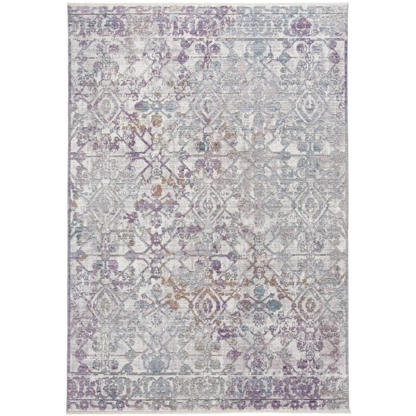 "Feizy Feizy Home Cecily Rug - Multi-Colored 96"" x 96"" 8573595FMLT000L80"