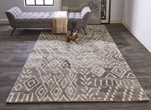 Feizy Feizy Home Asher Rug - Brown