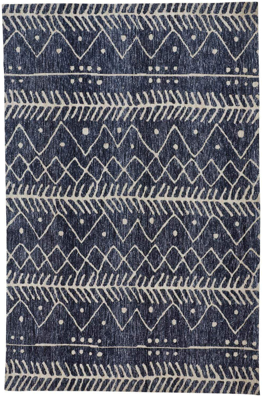 Feizy Home Colton Rug - Blue Dnm0008318F | Alchemy Fine Home