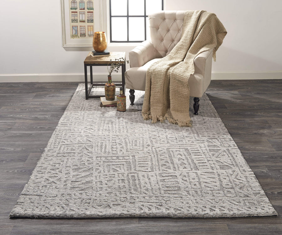 Feizy Feizy Home Colton Rug - Gray