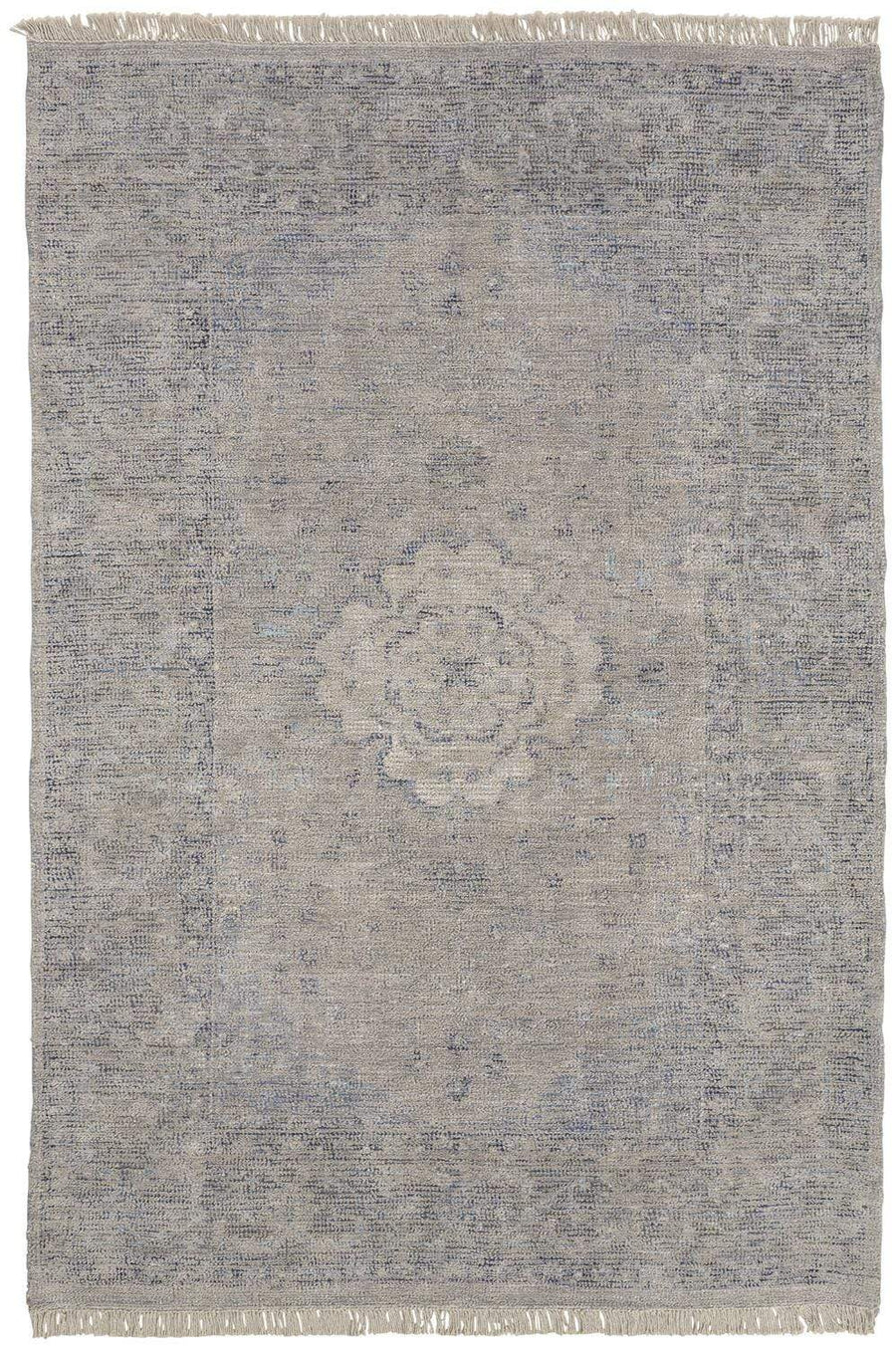 Feizy Home Caldwell Rug - Natural Blu0008108F | Alchemy Fine Home