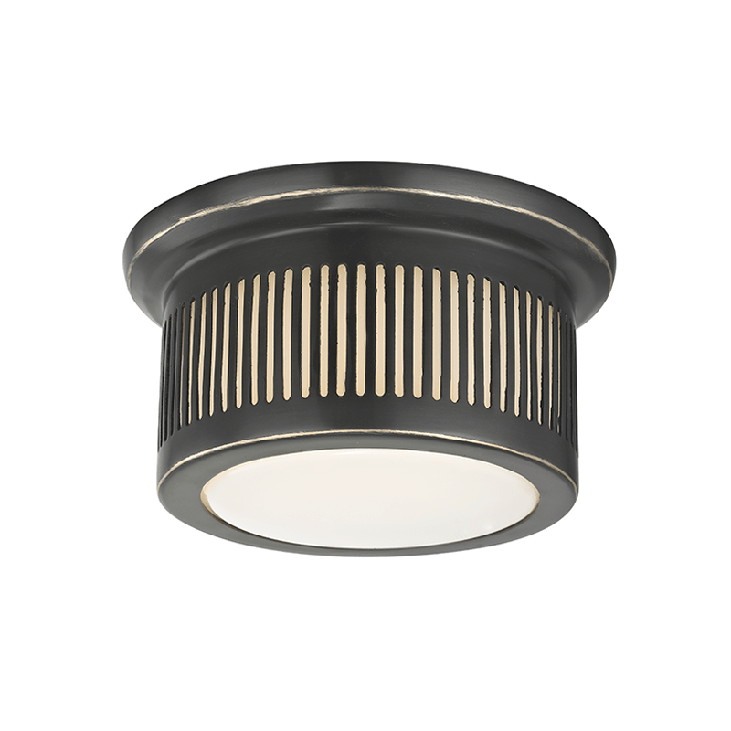 Hudson Valley Lighting Hudson Valley Lighting Bangor Ceiling Lamp - Old Bronze & Opal Glossy 1440-OB
