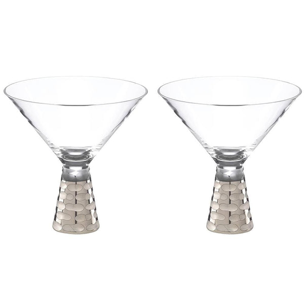 Michael Wainwright Truro Platinum Martini - Set of 2 91TR31
