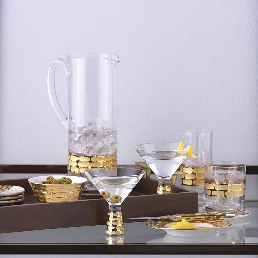 Michael Wainwright Truro Gold Martini - Set Of 2