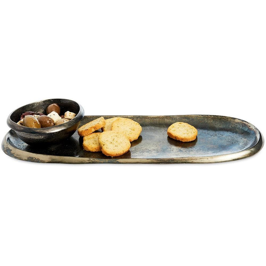 "Eclipse 14"" Tray in Steel Blue"