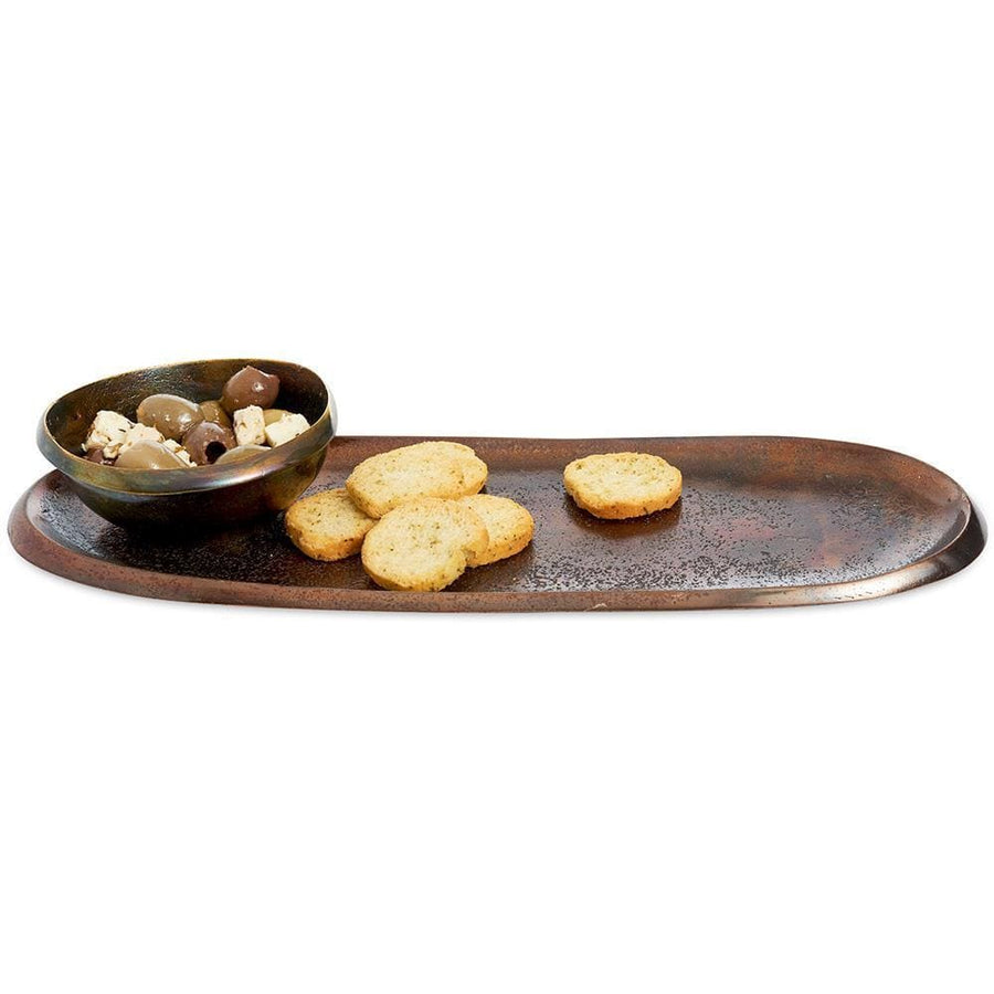 "Eclipse 14"" Tray in Bronze"