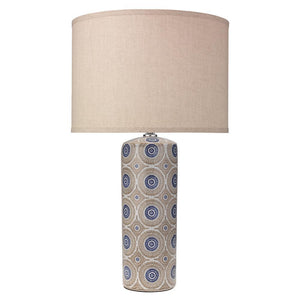 Jamie Young Fiona Table Lamp in Blue
