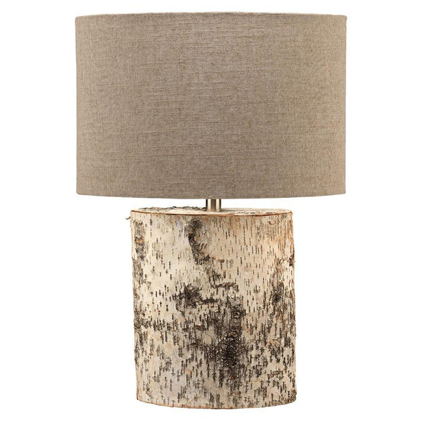 Jamie Young Forrester Table Lamp in Birch Veneer