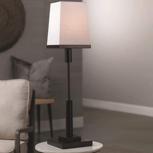 Jamie Young Jud Table Lamp in Oil Rubbed Bronze