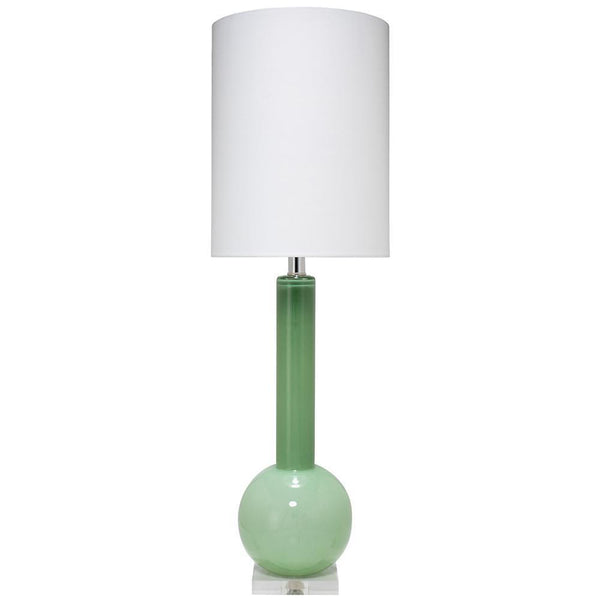 Jamie Young Jamie Young Studio Table Lamp in Leaf Green Glass 9STUDLGD131T