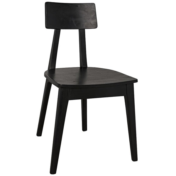 Noir Kimi Black Dining Chair