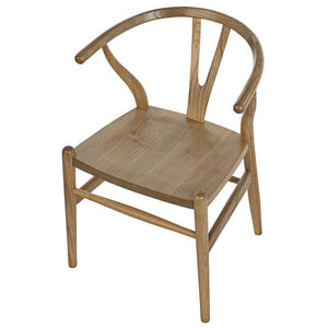 Noir Zola Natural Dining Chair