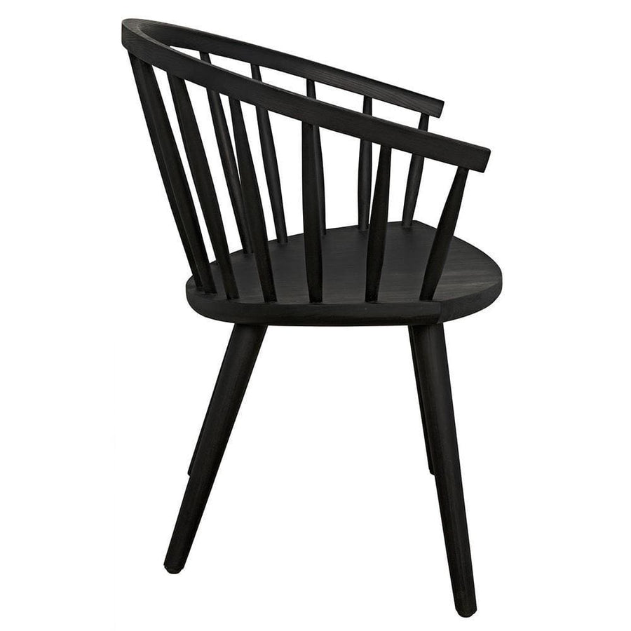 Noir Pauline Black Chair
