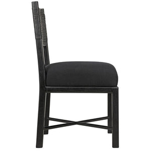 Noir Lobos Black Chair