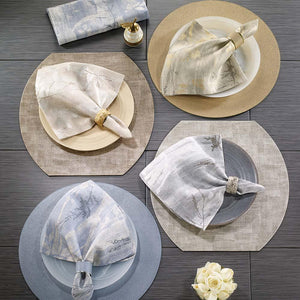 Bodrum Bodrum Avignon Napkin - Gold - Set of 4 AVI1010p