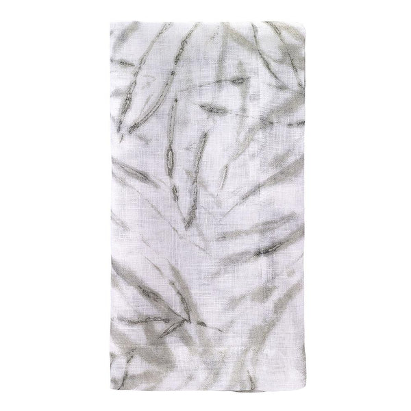 Bodrum Bodrum Bamboo Napkin - Silver - Set of 4 BAM5610p