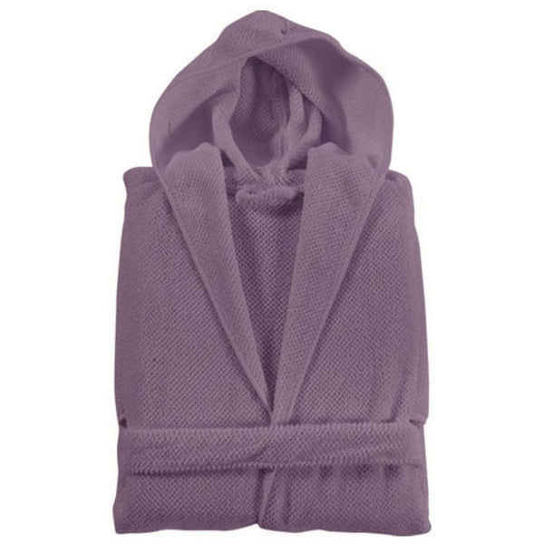 Graccioza Bee Waffle Bathrobe (Hooded) - Available in 6 colors | Alchemy Fine Home