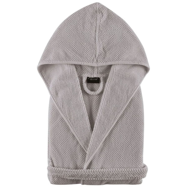 Graccioza Bee Waffle Bathrobe (Hooded) - Available in 3 colors | Alchemy Fine Home