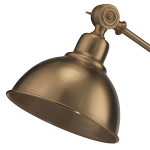 Jamie Young Wallace Table Lamp in Antique Brass