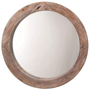 Jamie Young Reclaimed Mirror in Natural Wood