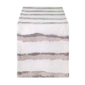 Bodrum Bodrum Brushstroke Table Runner - Gray BRU5632