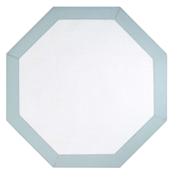 Bodrum Bodrum Bordino Placemat - Antique White & Celadon - Set of 4 LBR8003HEX4