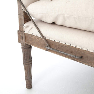 Four Hands Allison Chaise - Harbor Natural | Alchemy Fine Home