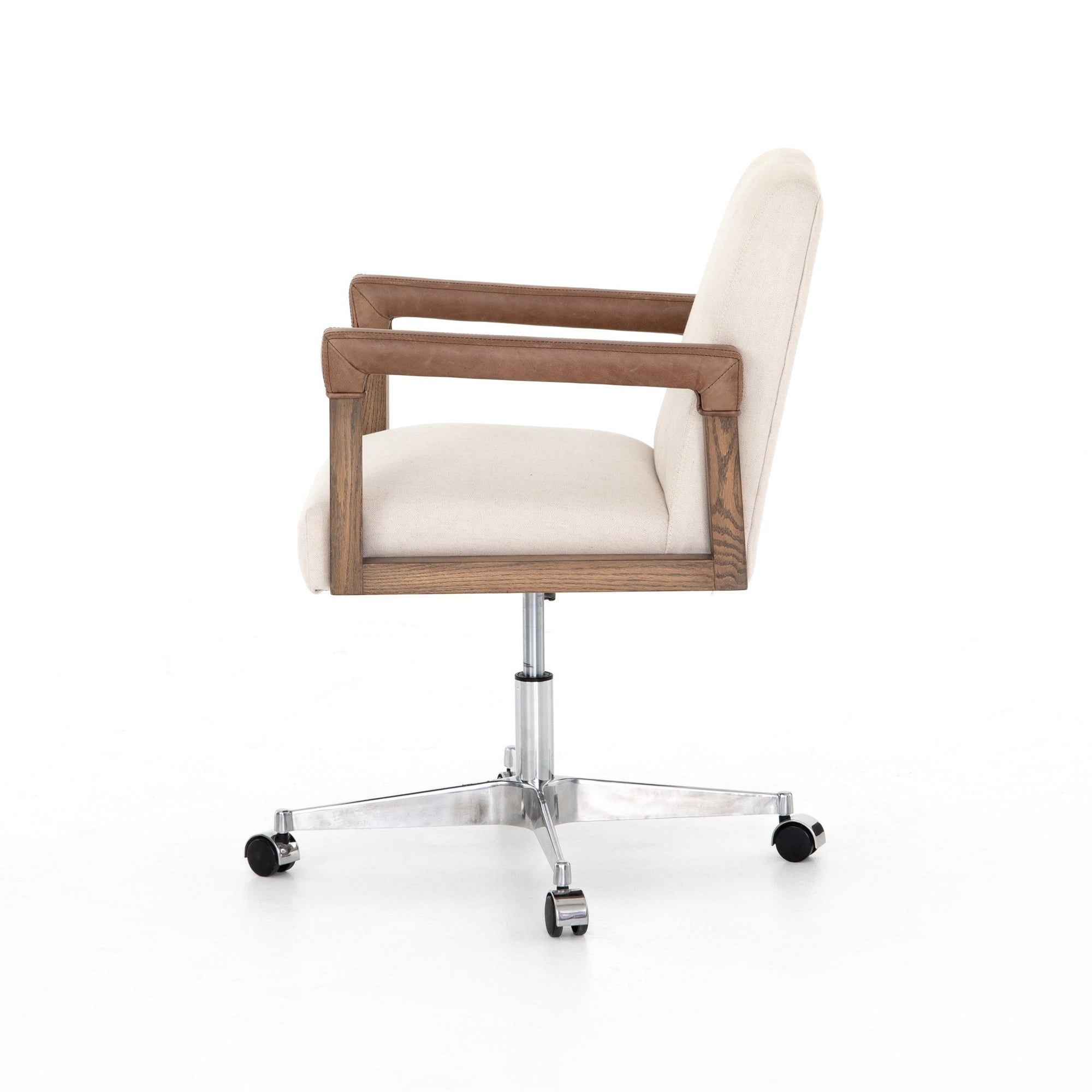 Four Hands Four Hands Reuben Desk Chair - Available in 2 Colors Harbor Natural CABT-9121-127