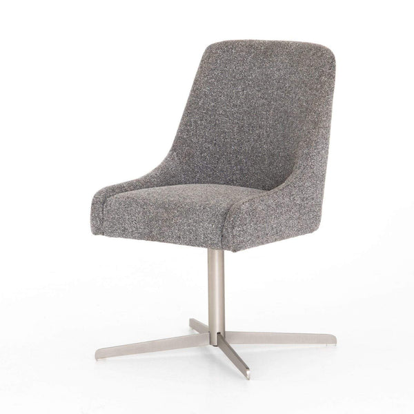 Four Hands Tatum Desk Chair - Bristol Charcoal | Alchemy Fine Home