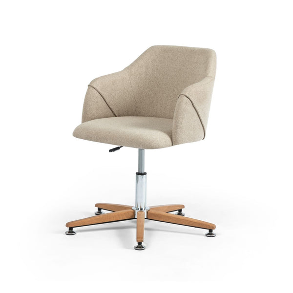 Four Hands Edna Desk Chair - Fedora Oatmeal | Alchemy Fine Home
