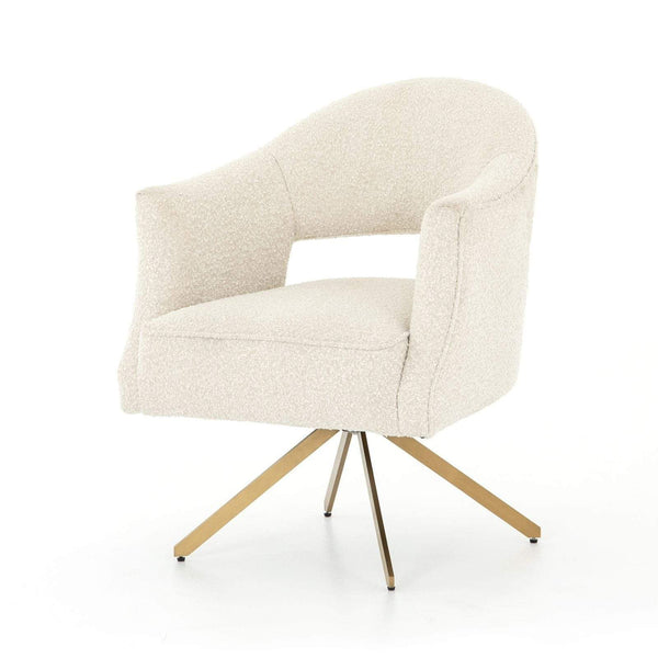 Four Hands Adara Desk Chair - Knoll Natural | Alchemy Fine Home