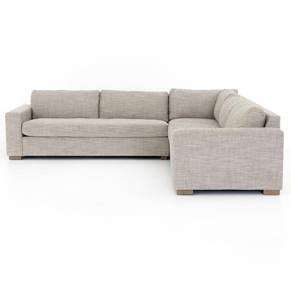Four Hands Four Hands Boone 3 Piece Small Corner Sectional - Beige CKEN-29964-829P-S2