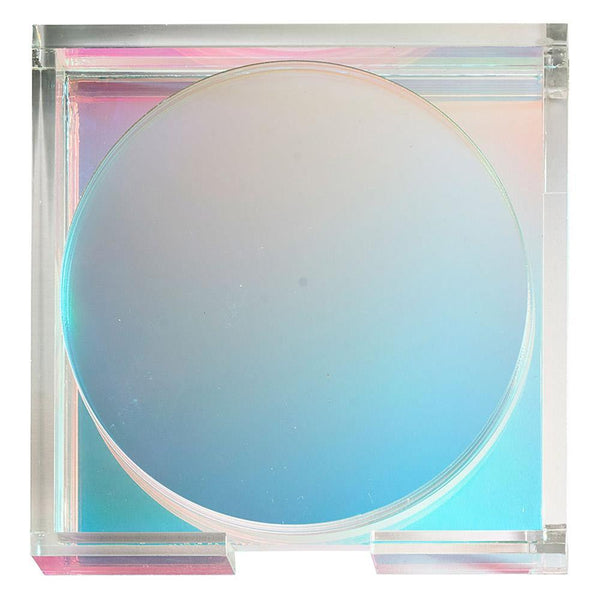 Luna Coaster in Iridescent - Set of 6 by Kim Seybert | Alchemy Fine Home