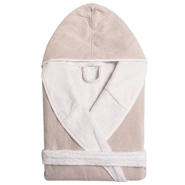 Graccioza Double Tone Bathrobe (Hooded) - Available in 4 colors | Alchemy Fine Home