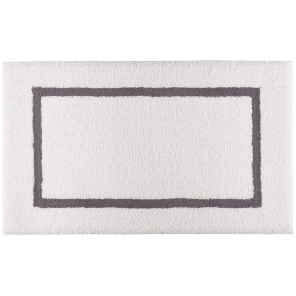 Graccioza Double Tone Bath Rug - Available in 4 colors | Alchemy Fine Home