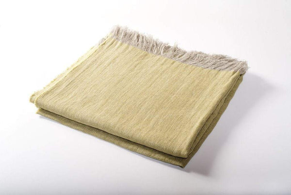 Harlow Henry Harlow Henry Linen Throw - 4 Available Colors Citrus HHILT01