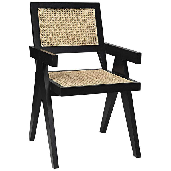 Noir Noir Jude Black Chair GCHA278B