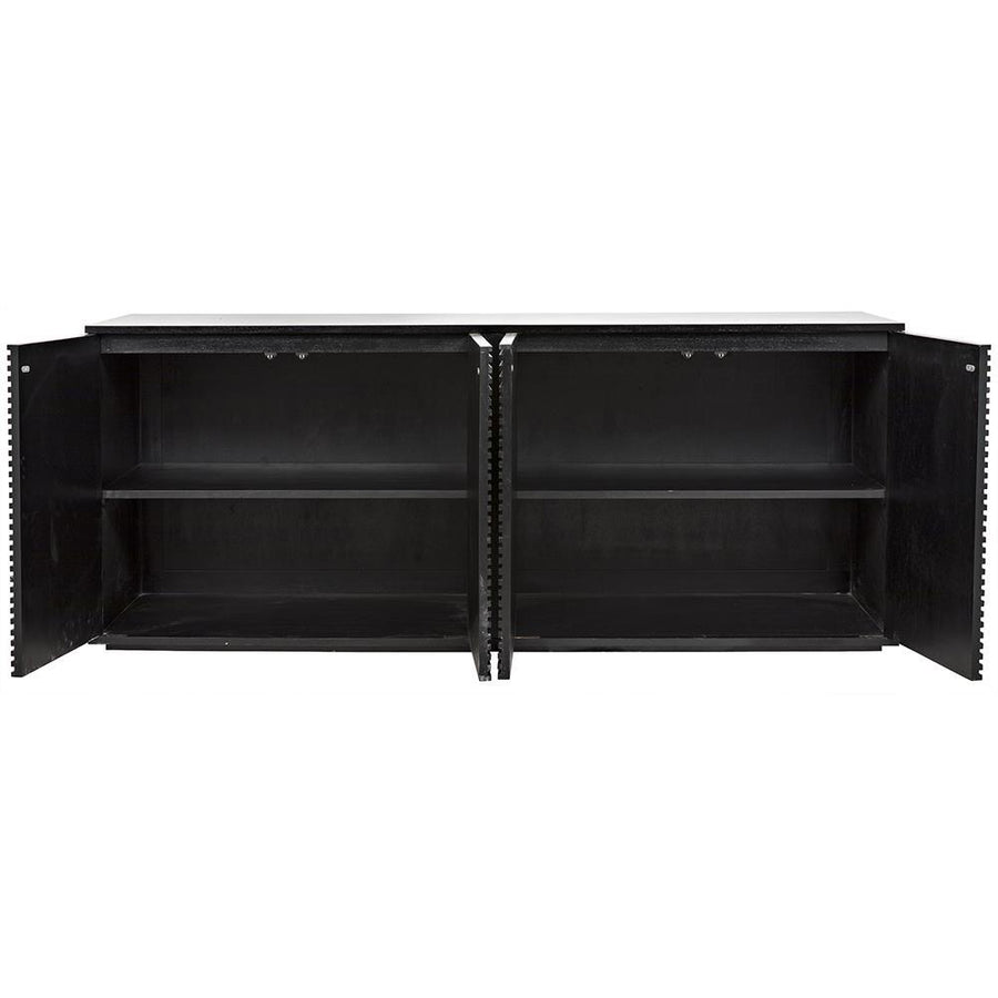Noir Smith 4 Door Sideboard