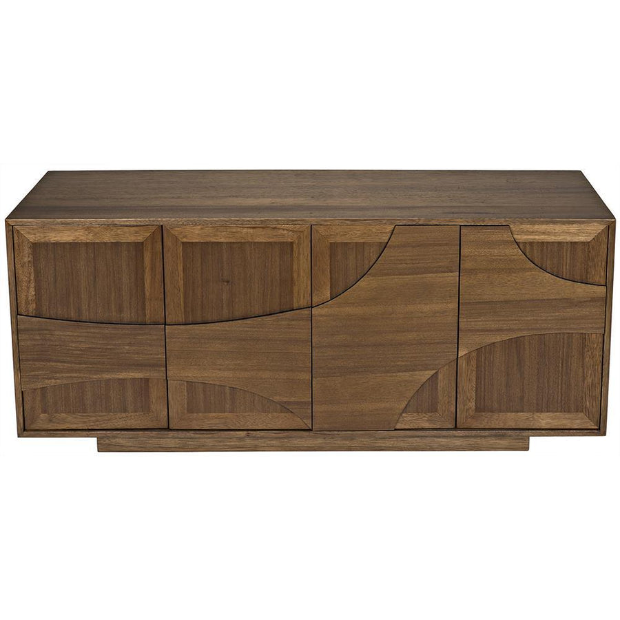 Noir Collage Dark Walnut Sideboard