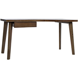 Noir Adonis Dark Walnut Desk